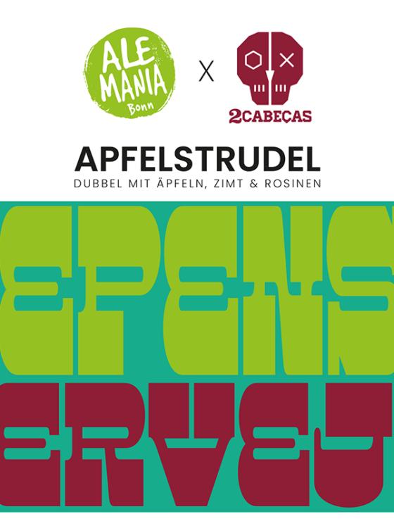 Ale-Mania x 2Cabecas Apfelstrudel