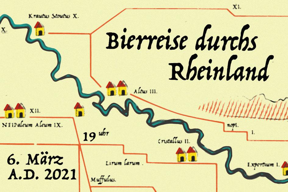 Bierreise durchs Rheinland